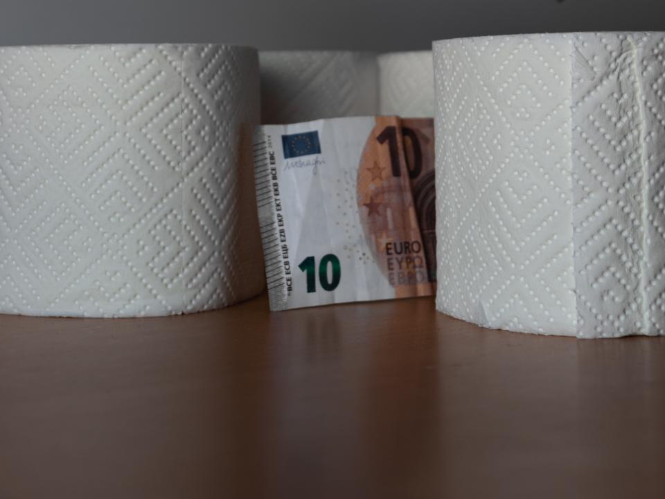 Rollos papel higienico emprender covid